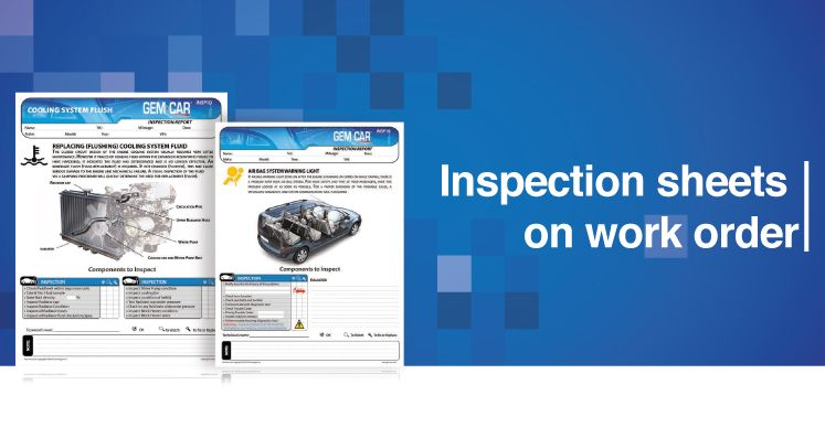 Automobile software help with inspection for cars