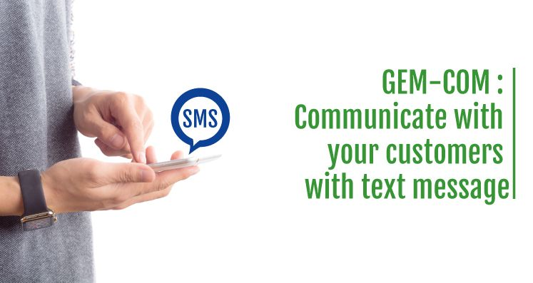 text message client and customers
