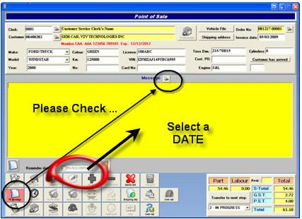 Recall Letter software
